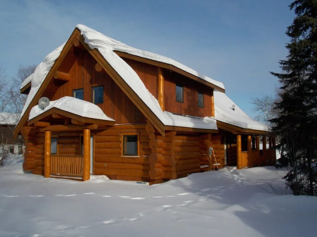 log home builders saskatchewan